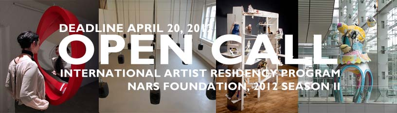 openCall_intl residency_2012